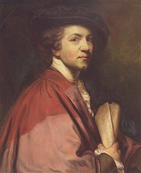 portrait of sir joshua reynolds by v. bianchini