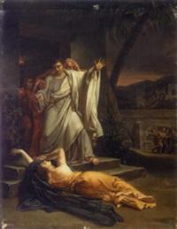 scène tirée de l'antique by louis-charles-auguste couder