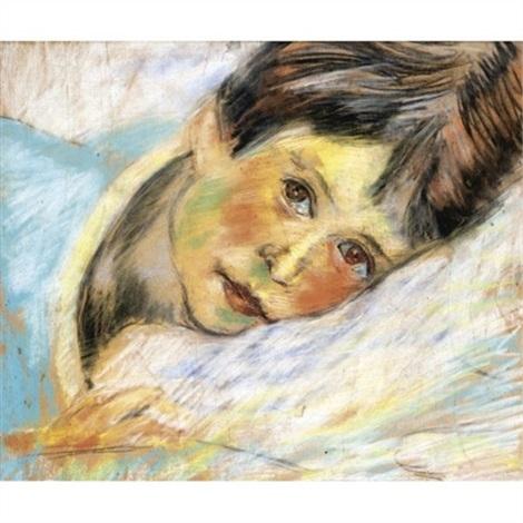 jessie macbryde, the artist's sister by robert macbryde