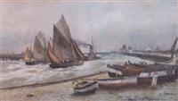 a busy shorline by robert malcolm lloyd