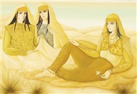les femmes du desert (women of the desert) by jellal ben abdallah