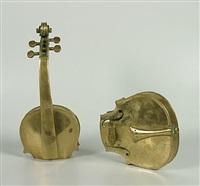 sans titre (violon découpé) by arman