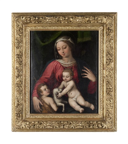 madonna col bambino e san giovannino by anonymous 16