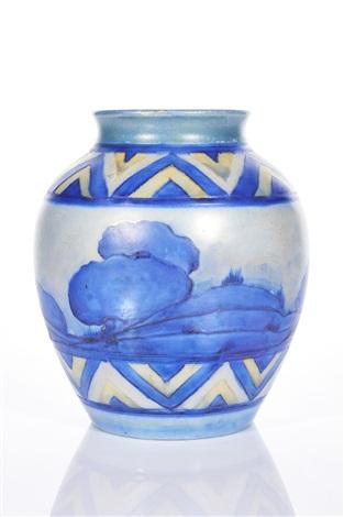 Vase By William Moorcroft On Artnet