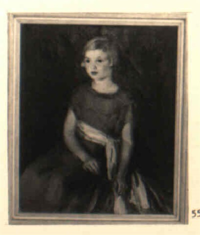 portrait of laura dean by ruth a temple anderson