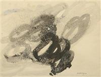 composition sur papier gratté by ida karskaya