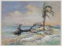 coastal view, charleston by elizabeth o'neill verner
