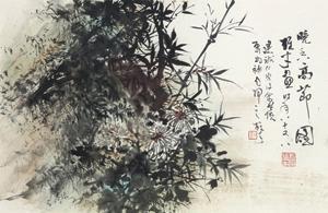 高节图 by li xiongcai