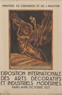 exposition internationale des arts décoratifs et industriels modernes by émile antoine bourdelle