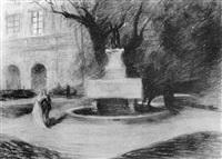 le jardin du musée saint pierre by charles senard