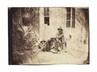 trois pifferari, 1853 by charles nègre