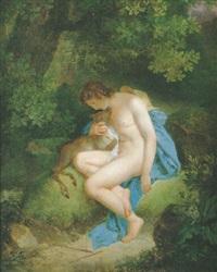 narcisse et cyparisse by joseph albrier