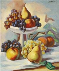 nature morte aux poires et raisins by andré lhote