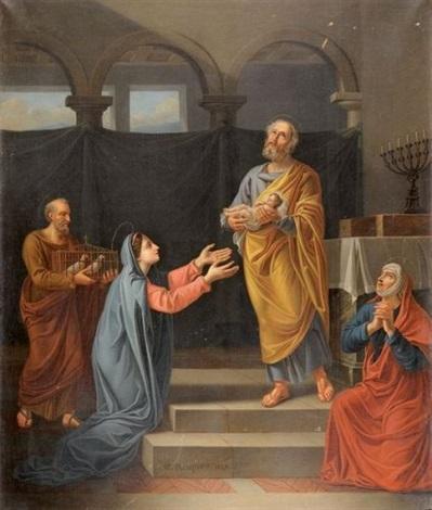 la circoncision du christ by guillaume joseph roques