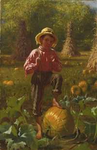 that's me pumpkin by john george brown