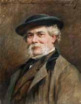 portrait du peintre françois simon by marius barthalot