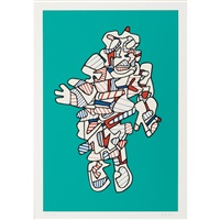 protestator by jean dubuffet