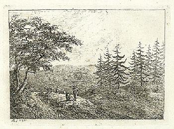 acht landschaften portfolio of 7 by friedrich rauscher
