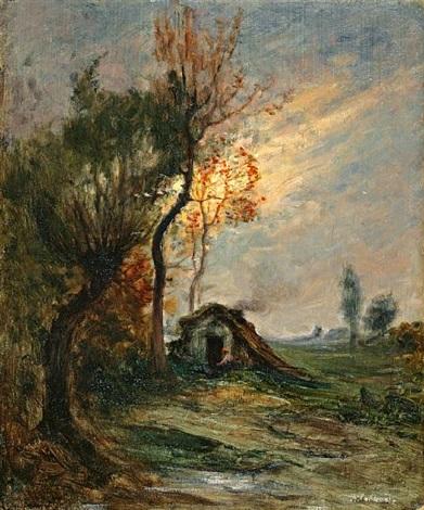 tramonto by italian school piedmont 19