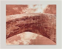 bridge over the cartesian gap by mark tansey