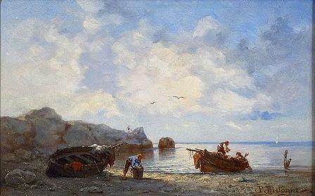 retour de pêche by paul bistaagne