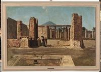 atrio della casa del fauno a pompei by federico cortese
