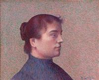 portrait de rosa boyé by achille laugé