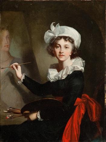 malarka przy sztalugach - autoportret by elisabeth louise vigée le brun