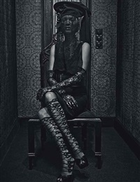 kate moss - study #7, for w, march by steven klein