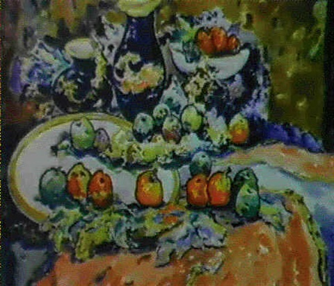 nature morte les fruits by ievgueni malych