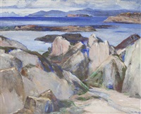 hebridean shores by william mervyn glass