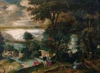 empereur dans une forêt by lucas van valkenborch