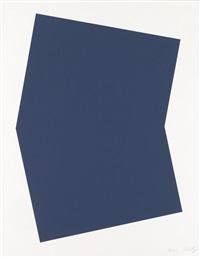 dark blue by ellsworth kelly