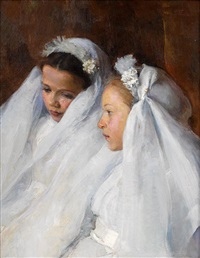 first communicants by elizabeth nourse