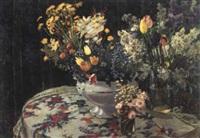 trois bouquets by sergei smirnov