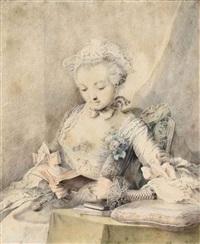 la lecture by jacques-andré portail