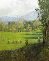 shepherdess by dimitrie n. cabadaieff