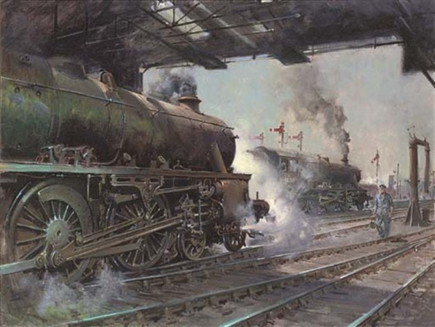 memories of willesden junction by terence cuneo