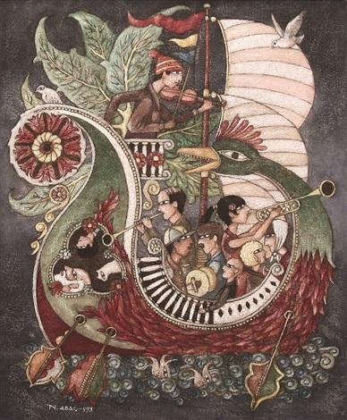 fantastic boat by nuri abac