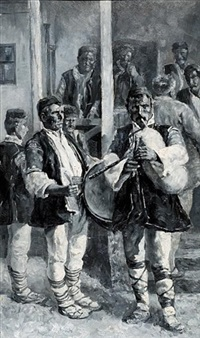 the musicians from epirus by leo arndt
