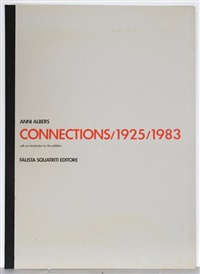 connections 1925-1983 (portfolio of 9) by anni albers