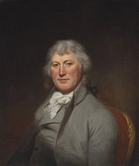 portrait of james w. depeyster by charles willson peale