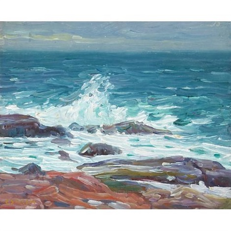 rockport seashore by charles salis kaelin