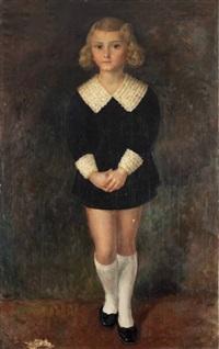portret danutki szczerskiej by jan kober