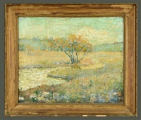 landscape by ernest lawson