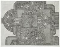 die neue historische architektur (set of 12) by johannes gachnang