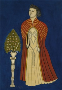 cappa da opera (opera girl) by morris hirshfield