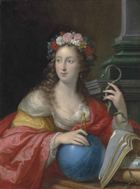 allegory of intelligence by cesare dandini