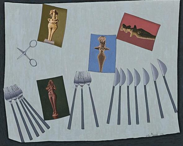 the fertility goddesses by john brack