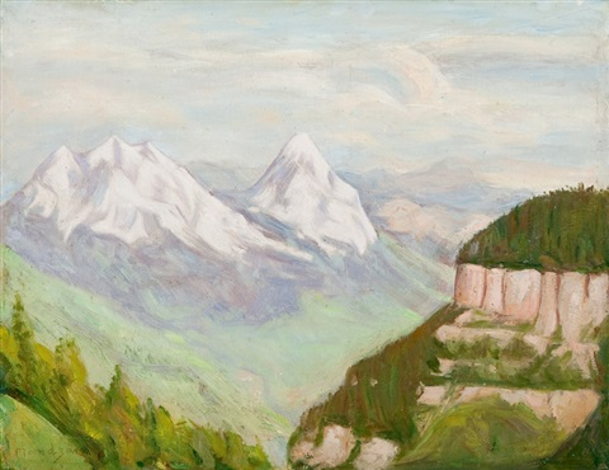 góry w szwajcarii by simon françois stanislas mondzain